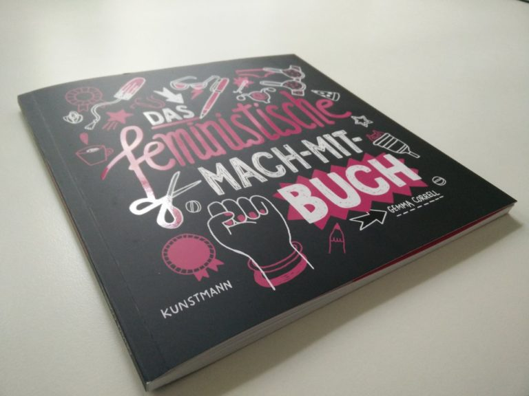Das Cover des feministischen Mach-Mit-Buchs