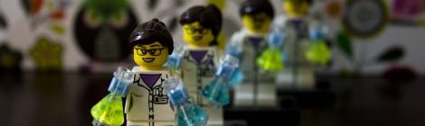 Wissenschaftlerinnen erobern die Lego-Welt