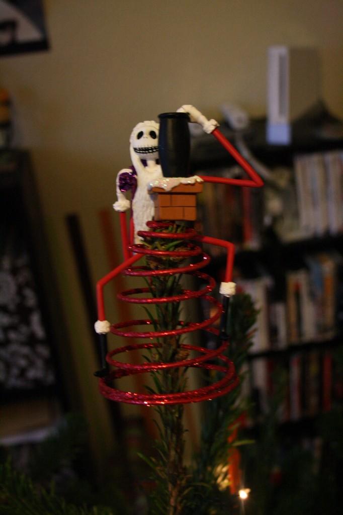 """Die Figur Jack von """"Nightmare before Christmas"""" als Weihnachtsfigur"""