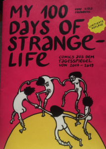 Das Cover des Comics. Tanzende nackte Menschen.