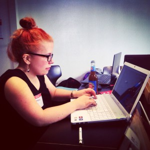 Ninia bei den Rails Girls
