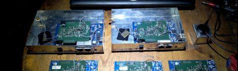 Prototyp WLAN-Router 482 MHz