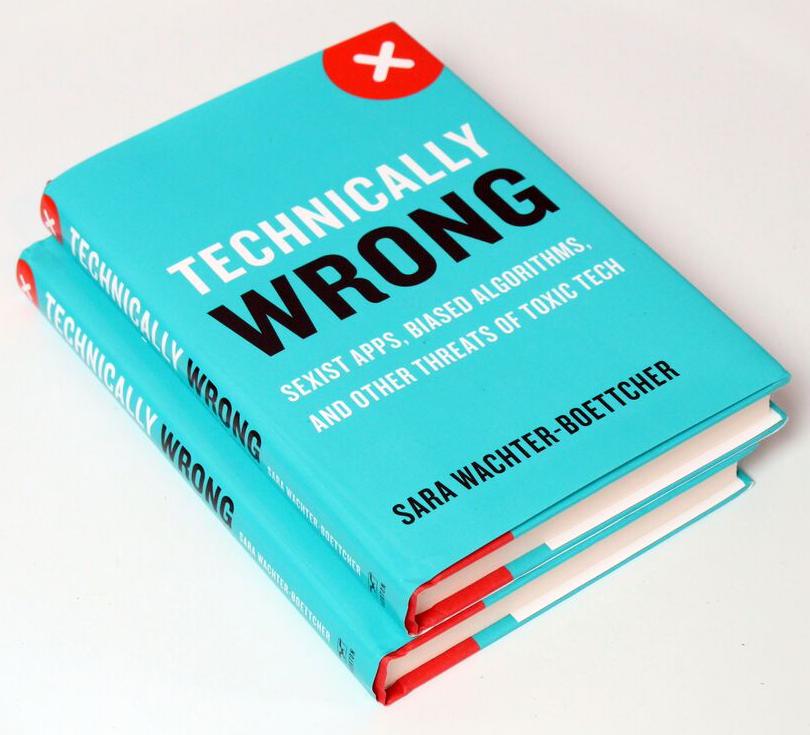 Technically Wrong Bücher auf weißem Grund.
