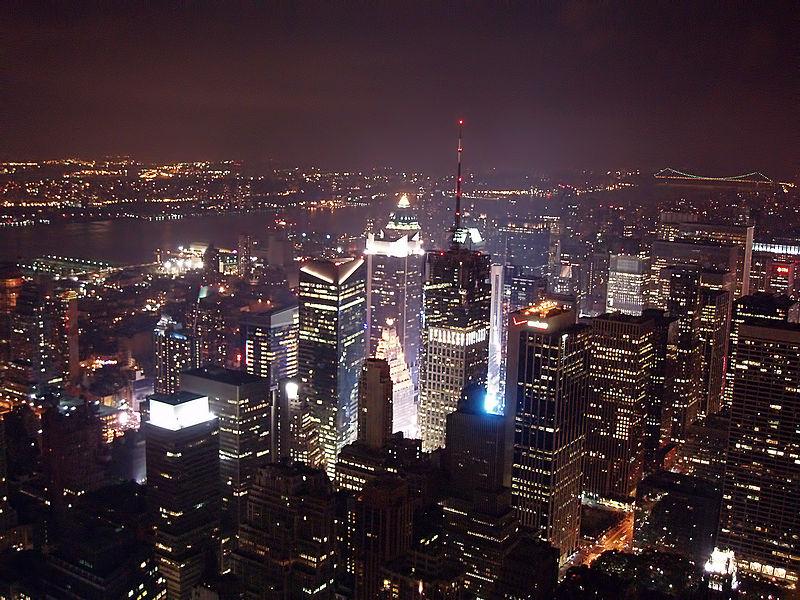 Luftaufnahme des Empire State Building