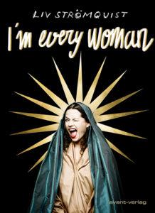 Coverbild des Comics. Zu sehen ist Liv Strömquist als christliche Mutter Maria die schelmisch zwinkert.