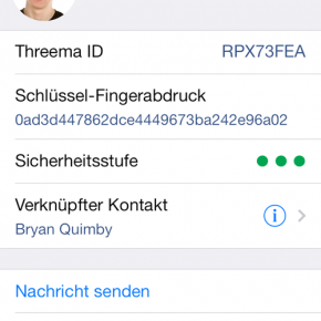 Threma - Eigene ID - Seite