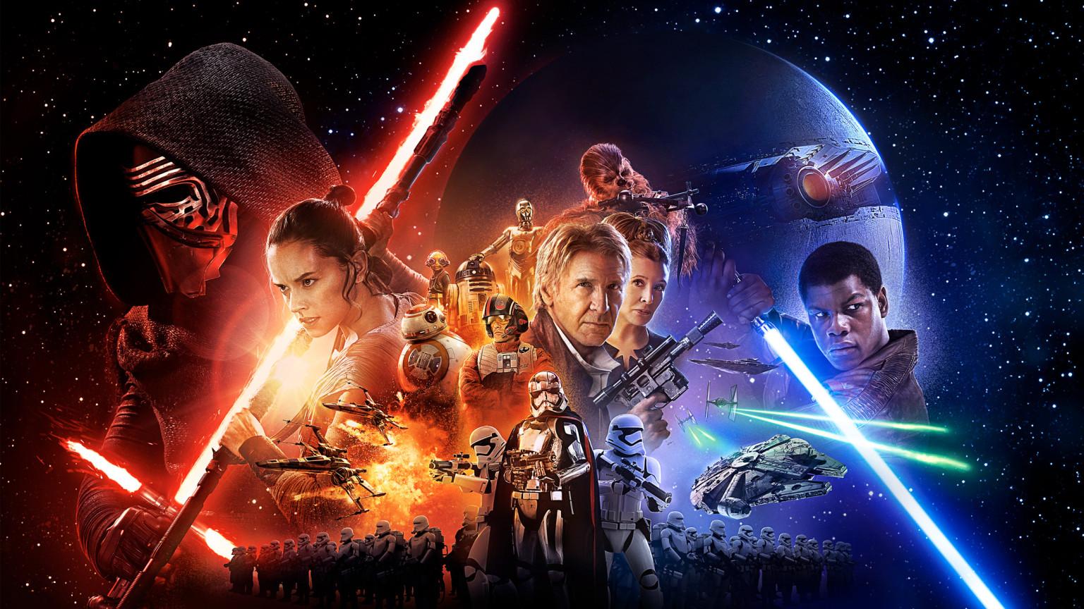 Das Poster zum neuen Star Wars-Film